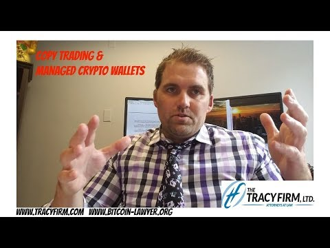 Adam Tracy Discusses Copy Trading & Managed Crypto Wallets