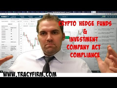 Adam Tracy on Cryptocurrency Hedge Funds & Investment Company Act Compliance