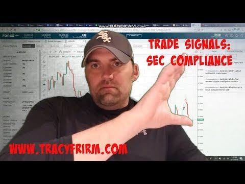 Adam Tracy Explains SEC Compliance for Trade Signal Providers