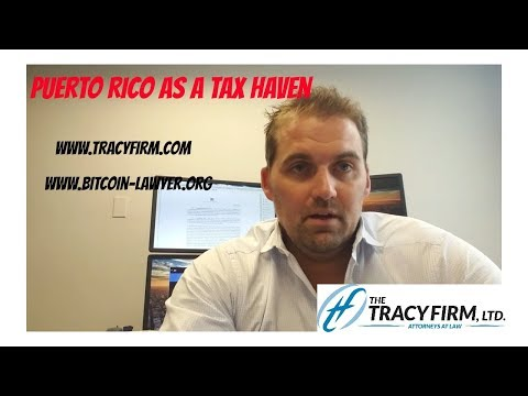 Adam Tracy Evaluates Puerto Rico as a Cryptocurrency Tax Haven
