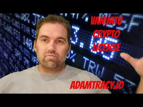 Adam S. Tracy Explains the Vanuatu Cryptocurrency License