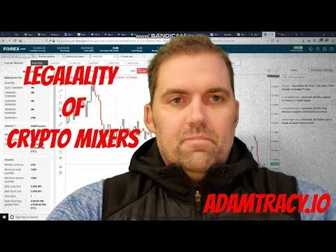 Adam S. Tracy on the Legality of Cryptocurrency Mixers